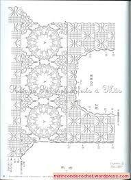 Resultado de imagen para patrones de canesu a crochet