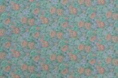 Vintage Cotton Fabric Cotton Quilting Fabric by #TheFabricScore www.thefabricscore.etsy.com #sewing #vintagefabric #fabric #crafts #diy