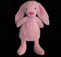 "Jellycat Bunny Rabbit Cordy Roy Pink Plush Stuffed Animal Soft Toy Floppy 16"" #Jellycat"