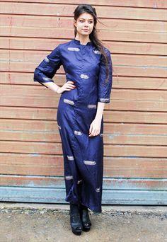 1ed18081be7f Vintage 70s Silk Boho Dress Vintage 70s, Vintage Ladies, Evening Gowns,  Boho Dress