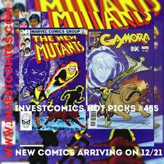 New comics arriving on 12/21. Go to www.investcomics.com and read which books made the Hot Picks cut.  #InvestComics #superman #batman #comics #marvel #marvelcomics #dccomics #comicbooks #newcomics #deadpool #spiderman #comic #suicidésquad #harleyquinn #joker #starwars #rougeone #marketing #socialmedia #social #market #marketinglife #socialmediamarketing #comicsforsale #comicart #ironman #xmen #captainamerica #newmutants
