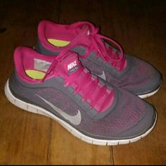 Nike free 3.0 In good conditions Only thing is it has a tiny rip inside shoe you can kind of see it in the pictures not notable at allwhen wearing the shoes great shoes! Nike Shoes Athletic Shoes