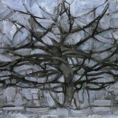 L'arbre gris, 1911 (Piet Mondrian, 1872-1944)