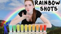 How to make Rainbow Shots! - Tipsy Bartender  Lol.... Oh that face! :D