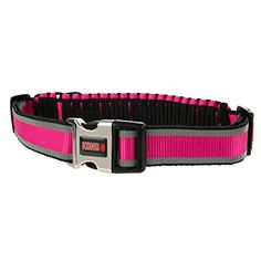 KONG Paracord Reflective Adjustable Collar Pink >>> Read more  at the image link.Note:It is affiliate link to Amazon.