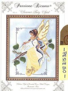 Summer Fairy Spirit - 1/8 Solo Patrones Punto Cruz (pág. 289) | Aprender manualidades es facilisimo.com
