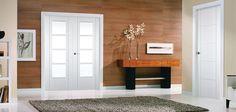 Iseo C4514 White Primed Doors, White Doors, Entryway, Lounge, Interior Design, Modern, Room, Furniture, Home Decor