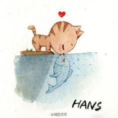#cute! This is one of the most simple and adorable drawings ever. :)