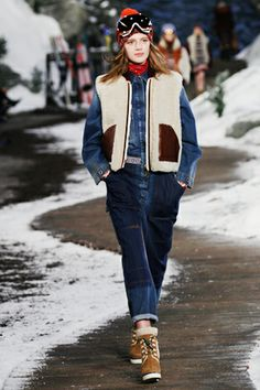 Our+Favorite+Trends+From+NYFW+#refinery29 mechanic jumpsuit a la Tommy Hilfiger
