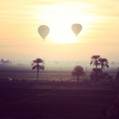 Hot-Air baloon rides in Egypt? I think i might die. <3