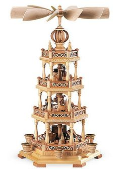 4tier German Christmas Pyramid  Erzgebirge motif  54 cm  21 inch  Mller Kleinkunst -- This is an Amazon Affiliate link. For more information, visit image link.