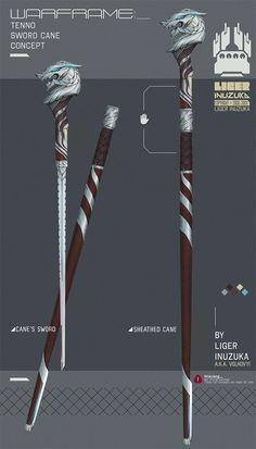 Warframe: Fan Concept Weapons, Liger Inuzuka