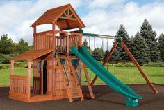 Fort-Treehouse-Playhouse