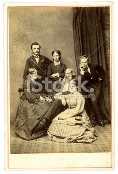 Victorian Family Portrait Royalty Free Stock Photo With coupon codes and promotional codes.