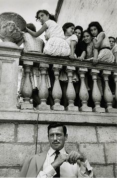 Yves Montand, Italy, 1958