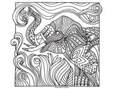 Art by LostBumblebee Graphics Print, Color, and Post! Images for personal coloring use only. www.lostbumblebee.blogspot.com Elephant Coloring pages colouring adult detailed advanced printable Kleuren voor volwassenen coloriage pour adulte anti-stress kleurplaat voor volwassenen Line Art Black and White Abstract Doodle Zentangle Paisley https://www.facebook.com/photo.php?fbid=1479434955685690