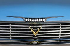 Plymouth Images by Jill Reger - Images of Plymouths -  1958 Plymouth Belvedere Convertible Grille Emblem