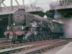 "BR Class A1 4-6-2 60156 ""Great Central"", Peterborough, circa 1961"
