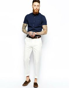 Dicas e Sugestões Para Usar Look com Calça Branca - Canal Masculino