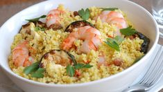 Looking for a quick, easy and healthy lunch to enjoy on-the-go? We've got 17 super-healthy couscous recipes for you to try. Clean Eating Recipes, Lunch Recipes, Vegetarian Recipes, Healthy Recipes, Grilled Fruit, Grilled Veggies, Seafood Dishes, Seafood Recipes, Couscous Recipes