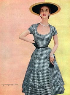 Dress by Jerry Parnis 1954