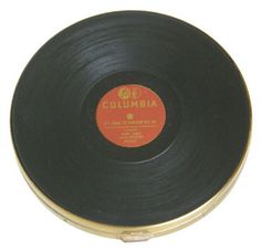 Vintage record compact