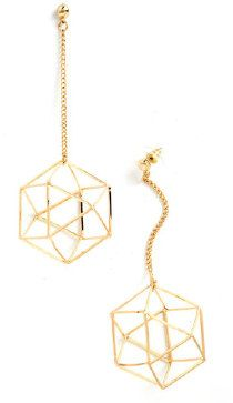 Along Came Polyhedron Earrings from ModCloth