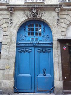 Ooh,la,la! Paris doors on Apartment Therapy