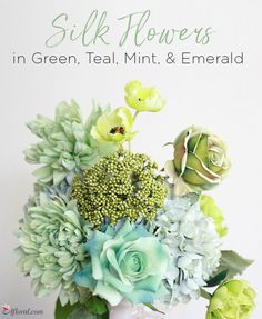 Green, Teal, Mint, &