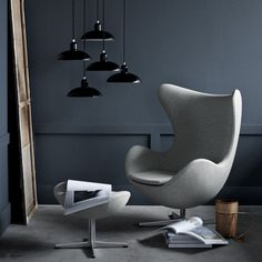 Great Lounge Chairs: Snooze, Eames, Egg, Womb & 6 More — Maxwell's Daily Find 03.09.15
