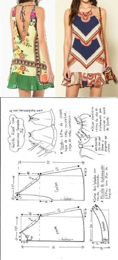 Amazing Sewing Patterns Clone Your Clothes Ideas. Enchanting Sewing Patterns Clone Your Clothes Ideas. Sewing Dress, Dress Sewing Patterns, Diy Dress, Sewing Clothes, Clothing Patterns, Diy Couture, Couture Sewing, Robe Diy, Diy Kleidung