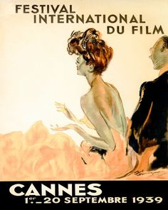 1939 Cannes Film Movie Festival France French 16 X 20 Vintage Poster Repro FREE SH | Art, Art Posters | eBay!