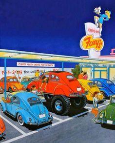 1976 best car art fun images on pinterest rolling carts car illustration and antique cars. Black Bedroom Furniture Sets. Home Design Ideas