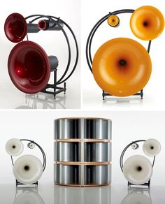 The Avantgarde Trio Classico audio speakers for $190,000