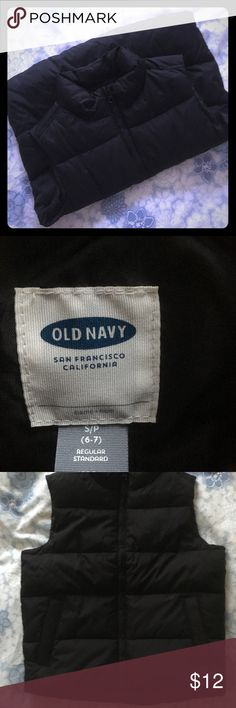 Old Navy Puffer Vest Old Navy Puffer Vest, size S (6-7). Black, new with tags. Old Navy Jackets & Coats Vests