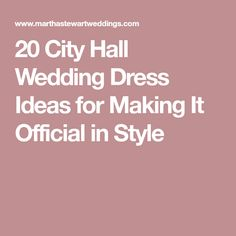 f1fe65b3aa032 20 City Hall Wedding Dress Ideas for Making It Official in Style Wedding  Dresses, City