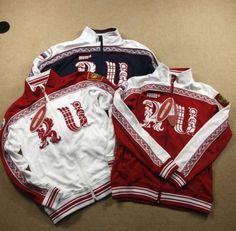 Russia Bosco Sport 2014 Sochi New Model RU White Winter Jacket For Men #None #BasicJacket