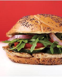Chicken-Cutlet Burgers