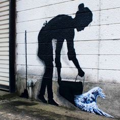 """Hokusai! Something new from Pejac in Tokyo, Japan #street #streetartnews #pejac @pejac_art"" Photo taken by @streetartnews on Instagram, pinned via the InstaPin iOS App! http://www.instapinapp.com (06/24/2015)"