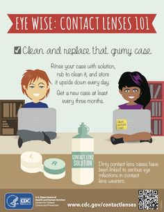 Don't forget to replace your #ContactLens case #ContactLensHealthWeek