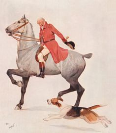 The Huntsman Premium Giclee Print by Cecil Aldin at Art.com