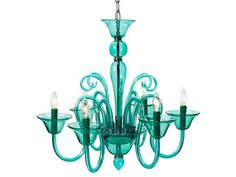Calais Chandelier - Aquamarine from Z Gallerie. I want a chandelier for my patio! Turquoise Chandelier, Modern Chandelier, Coastal Chandelier, Teal Chandeliers, Wood Chandelier, Look Urban Chic, Lustre Vintage, Blown Glass Chandelier, Murano Chandelier