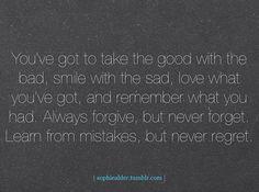 life lesson:)