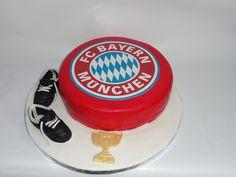 FC Bayern Cake Torte by simonamaria1975, via Flickr