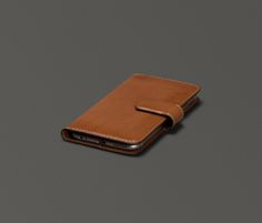 Burnished Magia Wallet Leather iPhone 6 Plus Wallet Case | Sena Cases