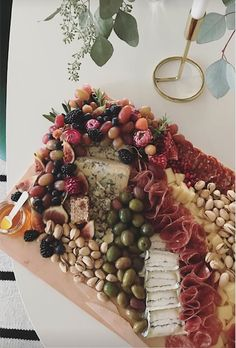 Cured meat and cheese plate. charcuterie board.