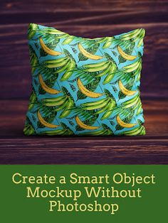 Create a Smart Object Mockup Without Photoshop  Go to this free website to use Smart Objects without Photoshop!  Photoshop Alternative   #photoshop #graphicdesign #etsy #tshirtdesign #mockup #mockuptemplates