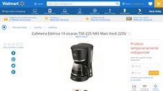 [Wal-Mart] Cafeteira Elétrica 14 xícaras TSK - 225 NKS Mais Você 220V 3545349 - de R$ 43,37 por R$ 37,71 (15% de desconto)