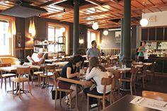 Where to eat in Lausanne: Café de Grancy Bientôt près de chez nous. Lausanne, Days Out, Places To Go, Restaurant, How To Plan, Eat, Home, Style, Switzerland