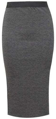 Womens Stretchy Tartan Print Pencil Calf Length Ladies Bodycon ...